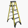 6-ft Fiberglass 375-lb Type IAA Step Ladder